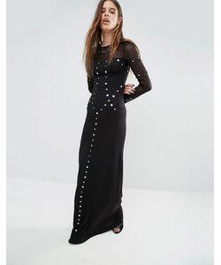 Religion | Платье Макси С Отделкой