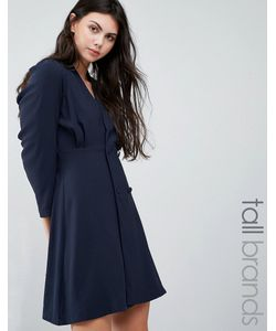 Vero Moda Tall   Wrap Front Shift Dress