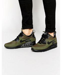Nike | Зимние Кроссовки Средней Высоты Air Max 90 806808-300