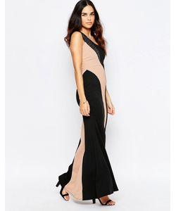 Jessica Wright   Платье Макси На Одно Плечо Silla