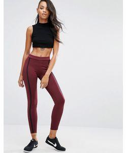 Nike | Темно-Бордовые Леггинсы Premium