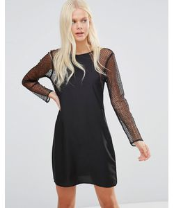 JDY   Платье С Кружевными Рукавами