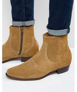 Hudson London   Замшевые Ботинки Winston