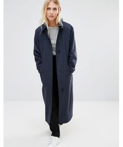 Cooper & Stollbrand | Темно Легкое Шерстяное Пальто