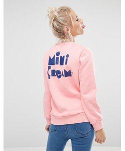 Mini Cream | Свитшот С Нашивкой На Груди Mini
