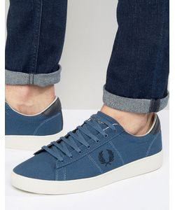 Fred Perry | Парусиновые Кроссовки Spencer