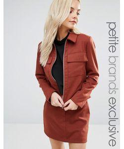 Fashion Union Petite   Куртка В Строгом Стиле