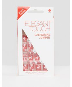ELEGANT TOUCH   Накладные Ногти Christmas Jumper