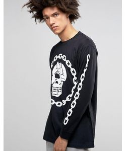 LONG CLOTHING | Oversize-Лонгслив Long X Mishka Chain