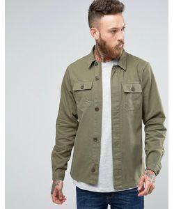 Hoxton Shirt Company | Куртка Узкого Кроя В Стиле Милитари