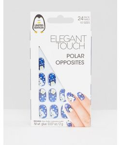 ELEGANT TOUCH | Накладные Ногти Polar Opposites