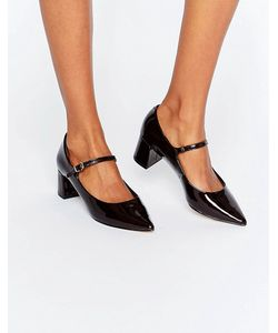 Carvela | Anthony Mary Jane Point Mid Heeled Shoes