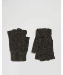 Glen Lossie | Перчатки Без Пальцев Из Овечьей Шерсти Цвета