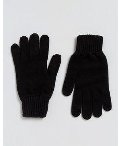 Glen Lossie | Черные Кашемировые Перчатки