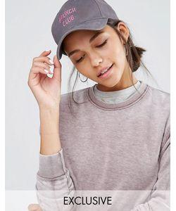 Adolescent Clothing | Бейсболка С Вышивкой