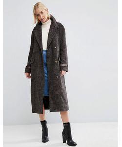 Asos | Пальто В Клетку
