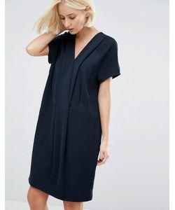 Selected | Платье Со Складками Fikka