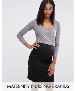 Noppies Maternity | Платье Для Кормящих Мам 2 В 1 Nursing