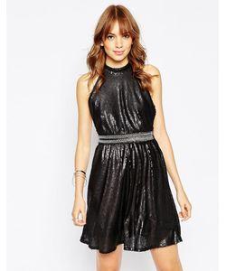 WYLDR | Короткое Приталенное Платье С Пайетками Backroom