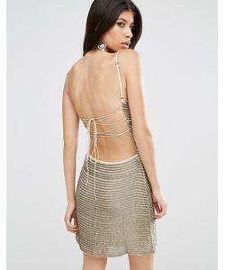 Walter Baker | Shirley Sequin Stripe Mini Dress