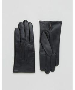 DENTS   Кожаные Перчатки На Кашемировой Подкладке Bath