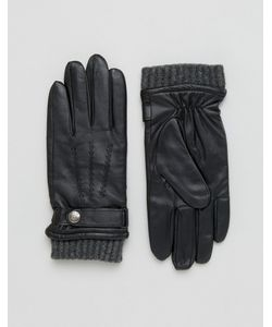 DENTS   Кожаные Перчатки Для Сенсорных Гаджетов Henley