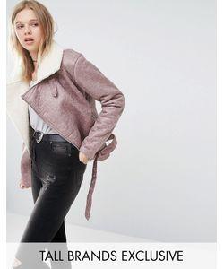 Glamorous Tall | Куртка-Авиатор С Отделкой Из Искусственного Меха
