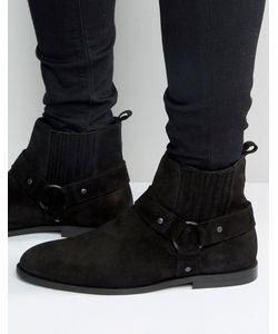 Kg Kurt Geiger | Замшевые Байкерские Ботинки Jackson