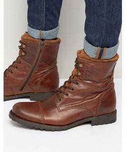 Aldo | Кожаные Ботинки На Шнуровке Lemond