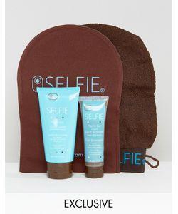Selfie | Asos Exclusive Golden Glow Mini Tanning Kit