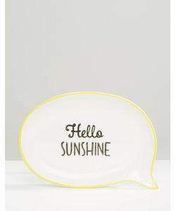 Sass & Belle | Блюдце Для Украшений Hello Sunshine
