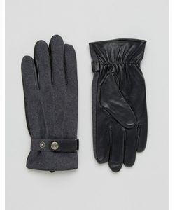 DENTS | Перчатки Из Шерсти И Кожи Guilford