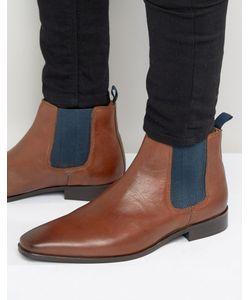 Kg Kurt Geiger   Baxter Leather Chelsea Boots