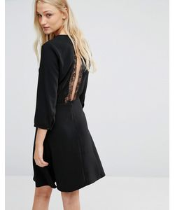 New Lily | Платье С Кружевом Сзади
