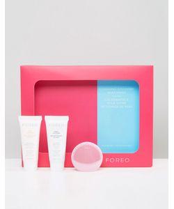 Foreo | Набор Очищающих Средств Для Кожи Luna Play Pearl Pink