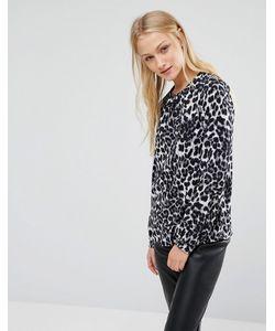 New Lily | Блузка С Леопардовым Принтом