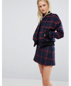 NewLily | Checked Bomber Co-Ord