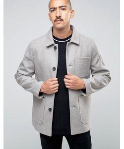 Stanley Adams | Обогащенное Шерстью Пальто С Накладными Карманами