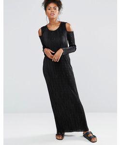 Liquorish | Платье Макси С Длинными Рукавами И Открытыми Плечами