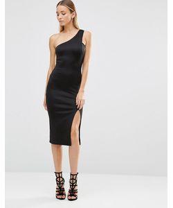 AX Paris   Асимметричное Платье Миди