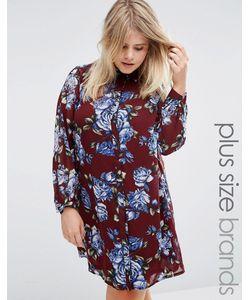 Live in Love | Платье-Рубашка С Цветочным Принтом Plus