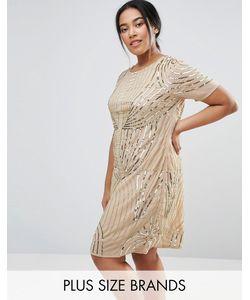 Lovedrobe Luxe | Декорированное Цельнокройное Платье