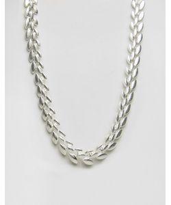 Pilgrim | Посеребренное Ожерелье
