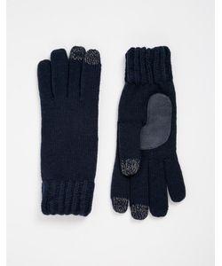Totes   Вязаные Перчатки С Накладками Для Сенсорных Экранов На 3 Пальцах