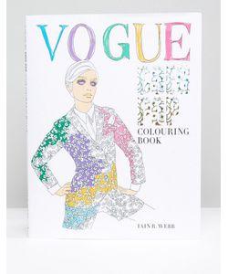 Books | Раскраска Vogue Goes Pop Colouring Book