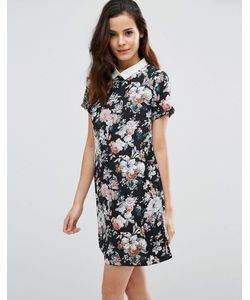 Poppy Lux | Платье-Туника С Цветочным Принтом Wilona