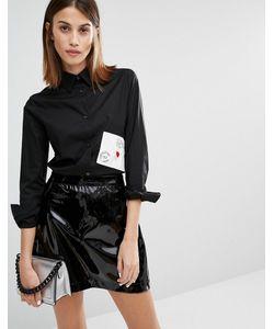Love Moschino | Рубашка С Карманом В Виде Конверта