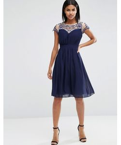 Little Mistress | Платье С Вырезом Сердечком И Вышивкой