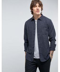 Hoxton Shirt Company | Рубашка Узкого Кроя В Крапинку Hoxton