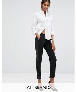 Vero Moda Tall   Брюки Свободного Кроя С Отделочной Строчкой